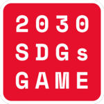 2030 SDGs Game logo Red