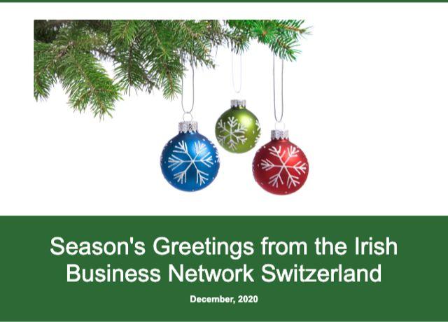 season's greetings from the irish business network